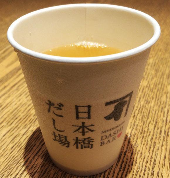 【グルメ】ダシを立ち飲みする! ダシ専門立ち飲みバー『日本橋だし場』に行ってみた
