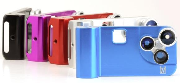 【新商品】4種類のレンズがついたiPhoneケース発売! カッコ良すぎて笑った