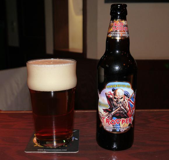 【メタルファン必見】 ヘビメタの大御所「アイアン・メイデン」のビールを飲んでみた / 見た目も味も最高だッ!!