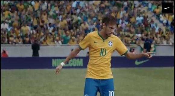 【衝撃サッカー動画】ブラジル代表の選手が大集合した NIKE の CM がカッコよすぎると話題