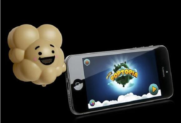 【笑った速報】iPhoneアプリと連動して本当にポップコーンのニオイがするゲーム!