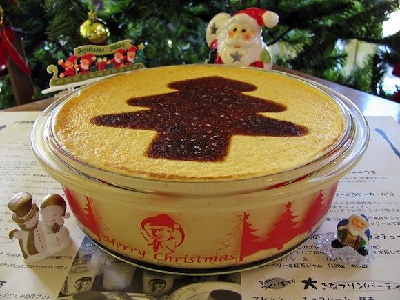 【スイーツ】クリスマス特製ジャンボサイズのマーロウのプリンがあるぞー!!