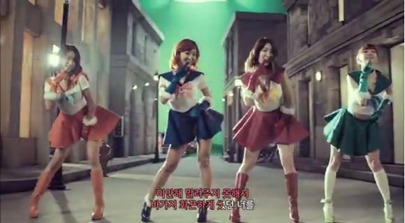 韓国アイドルグループが実写版セーラームーンにチャレンジ! 再現度は高くないが「これはアリ」と話題