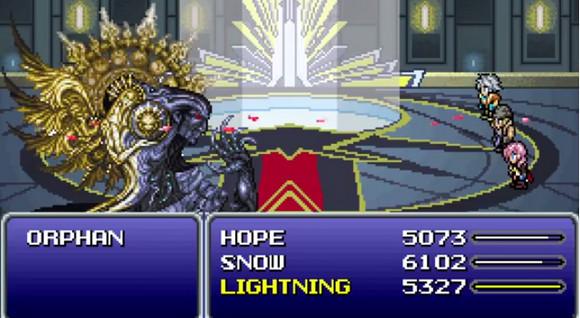 【FF13】ライトニングさんがスーパーファミコン風になったぞー!! 公式が発表の『ライトニング リターンズ』スーファミ風動画が最高にクールだと話題