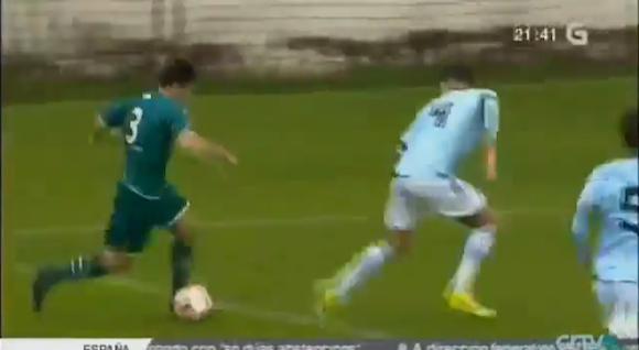 【衝撃サッカー動画】マラドーナ&メッシ超え! スペインで20歳の若手選手が7人抜きの離れ業を達成!!