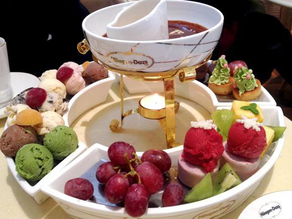 【グルメ】中国にはハーゲンダッツアイスの鍋がある / ハーゲンダッツ火鍋
