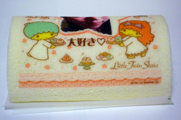 自分の顔がケーキにプリントされる! 世界でひとつだけのケーキを作ってみた!!
