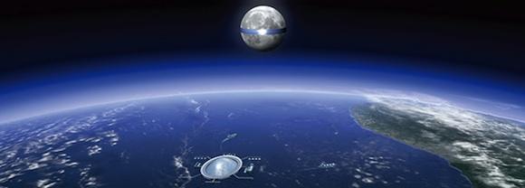 【未来速報】清水建設が計画する『月太陽発電 ルナリング』がすごいぞ! 宇宙から地球に電力転送!!
