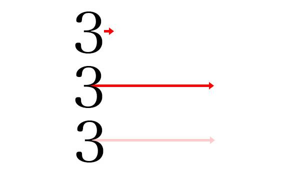 【図解】オナラの種類を矢印で表現したらこうなった