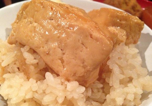 【グルメ】ダシたっぷり豆腐の『とうめし』がブッ倒れるほど美味い! おでん屋『お多幸』の「おでん定食」がコスパ最高