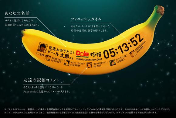 これは欲しい! 東京マラソン2014参加者を対象にプレゼントされる「バナナトロフィー」が食べたくないほど素晴らしい