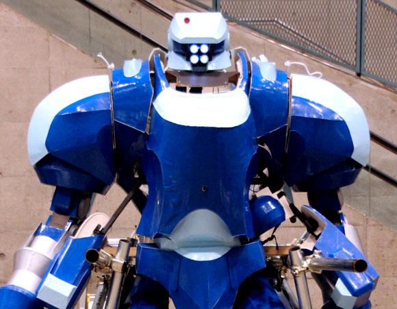 【大日本技研×佐川電子】あの実際に操縦できる『アップルシード』のギュゲスがワンフェスでお披露目!! 動く姿が超絶カッコイイぞ!
