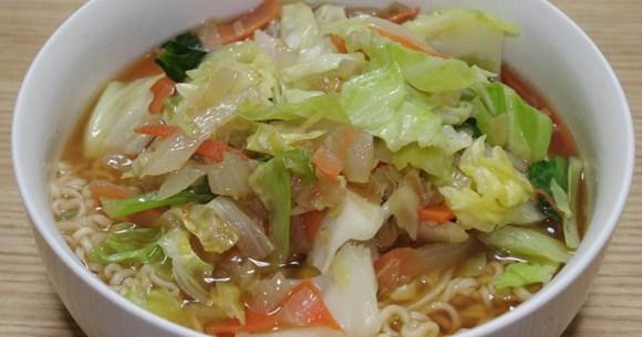 チキン ラーメン 野菜