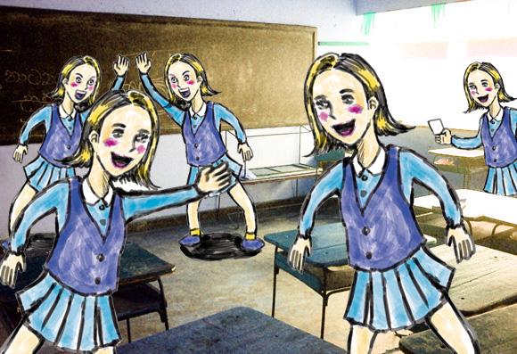 男子校出身の男性が勝手に思い描く女子校あるある