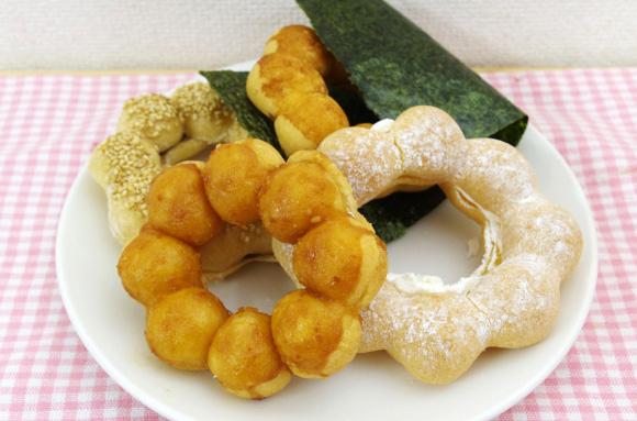 【グルメ】ミスター・ドーナツの新ポン・デ・リング4種を食べてみた / ご当地名産品と絶妙に融合!