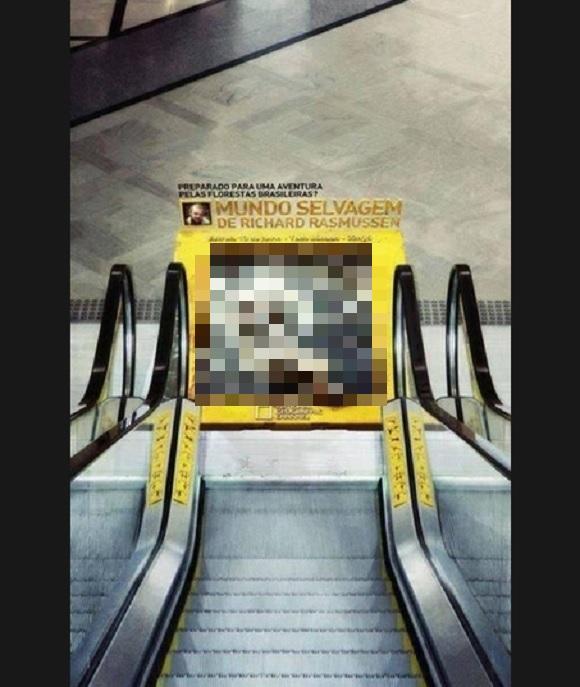 秀逸かつ激コワ! 『ナショナル ジオグラフィック』の広告に震えが止まらない人続出中
