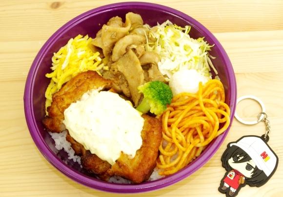 【弁当×大人気漫画】「進撃の巨人弁当」を実際に食べてみた / 結論「いたって普通~のおいしいお弁当」