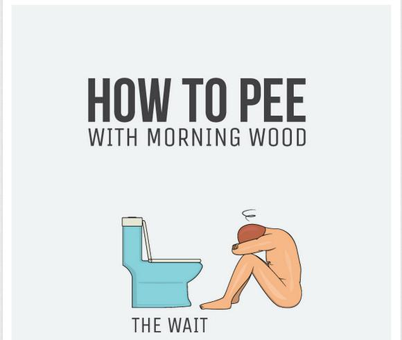 【男性必見】生理現象が何だ!! 「起床直後のオシッコを上手くコントロールする方法9選」が考案される