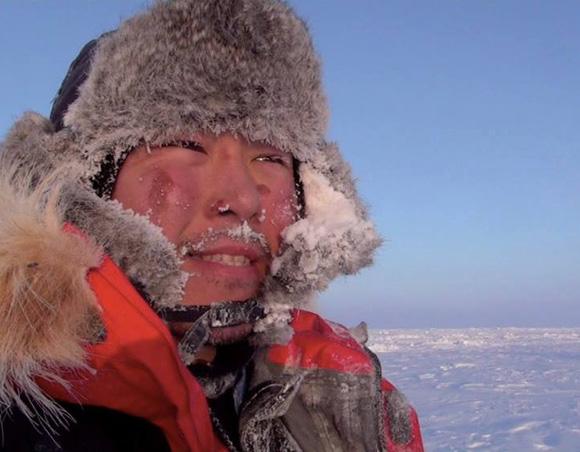 【北極冒険21日目】再びブリザード発生 / 二日間の停滞を余儀なくされることに