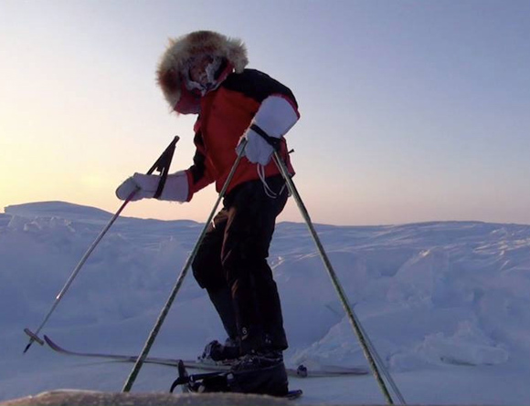 【北極冒険23日目】ブリザード効果で氷のコンディション良好 / 16kmを超える長距離移動に成功