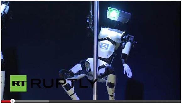 ドイツの先端技術を結集して制作された「ポールダンスロボット」の動きがどう見ても『先行者』にしか見えない件