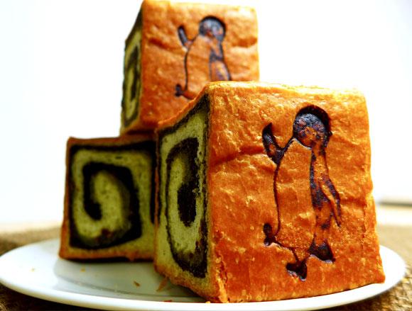【可愛すぎ】JR東日本の「Suicaのペンギン」がまたまたパンになってますよ / 今度はキューブ型がオシャレな「ブリオッシュ」だぞ~!!