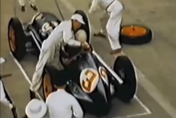 64年前のF1のピット作業はこうだった! 今と昔のF1ピット作業を比較した動画が話題