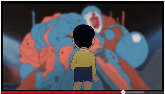 【夢の共演】海外アニメーターが制作した『ドラえもん』と『AKIRA』の融合アニメがカオスすぎて笑った