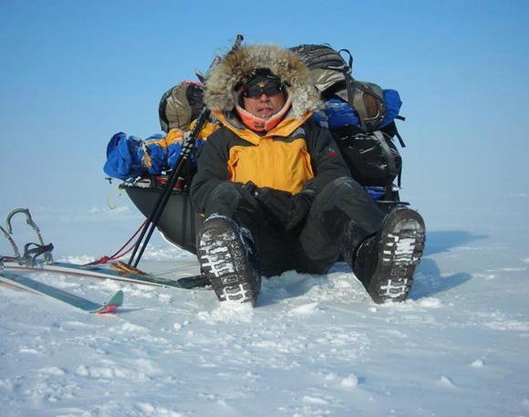 【北極冒険38日目】ついに3度目のブリザード襲来 / 強風で22kmも東へと流されてしまう