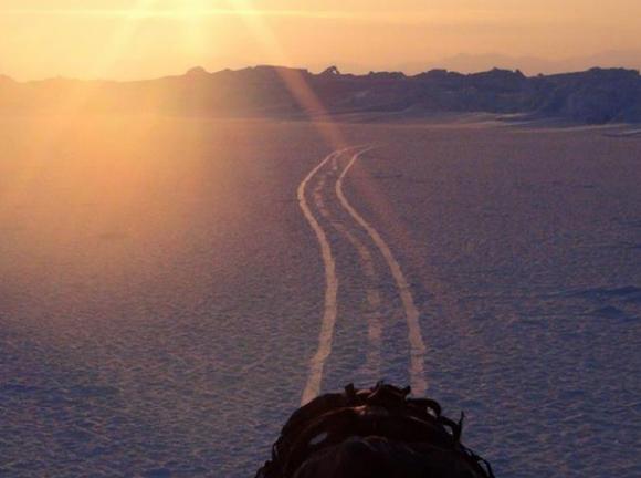 【北極冒険39日目】強風にあおられてテントごと3km北上 / ようやくブリザードが過ぎ去る
