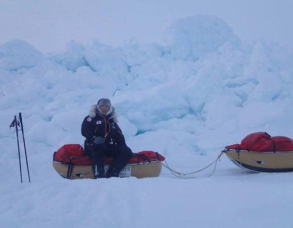 【北極冒険】48日ぶりに陸地に帰ってきた荻田氏が初めてコメント「いかに次回につなげるかしかない」