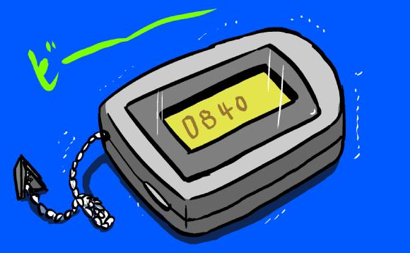 【懐かしクイズ】ポケベルのサービス終了 以下の『ベル文字』を解読せよ →「084」「0833」「10105」など