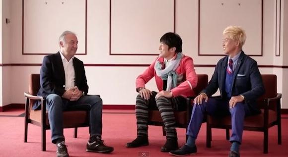 【衝撃サッカー動画】ザッケローニ監督×桜井和寿&GAKU−MCのサッカー対談がスゴくイイと話題 / ネットの声「意外な一面が見れて面白かった」