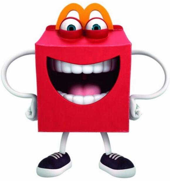 【衝撃】マクドナルドの新公式キャラクター「ハッピー」のデザインが物議 / ネットの声「眠れないよ」「子供はみんな逃げ出しちゃうね」