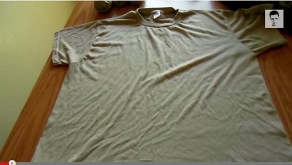 これはマスターしておきたい!! 「米軍式Tシャツのたたみ方」が収納力抜群でマジで使えそう