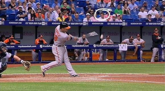 【衝撃野球動画】鋭い打球がよそ見をしていた観客の顔面スレスレをかすめるシーンが恐ろしすぎる