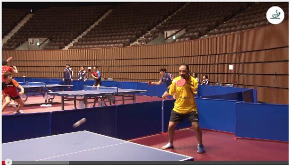 【動画】事故で両腕を失った選手の卓球プレーがハンパない! 素人では絶対に歯が立たない実力