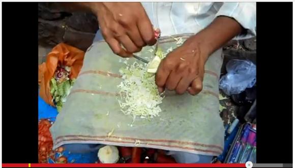 キャンプに欲しい! まな板なしで野菜をみじん切りにできるインド式のナイフが超便利ッ!!