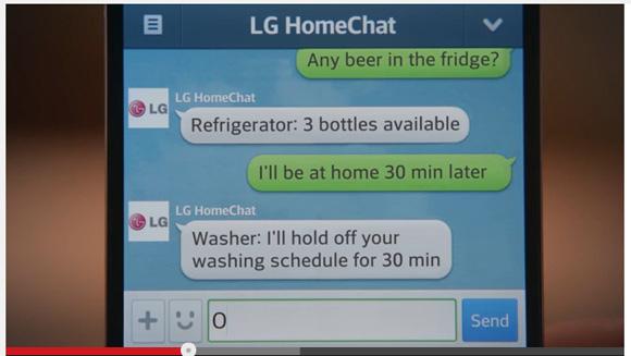 【ぼっち必見!?】韓国LGが家電と「LINE」で対話するサービスを計画中 / 意外と使えそうな予感