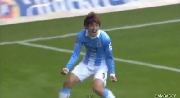 【衝撃サッカー動画】日本代表・大迫勇也選手は何がどう「半端ない」のかが二発でわかるスーパープレイ動画 / 独「1860ミュンヘン」でのプレー集つき