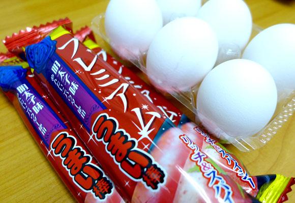 『プレミアムうまい棒 明太子味』で明太玉子焼きを作ったら最強のおつまみが誕生した! うまい棒のおかげで玉子も巻きやすく一石二鳥