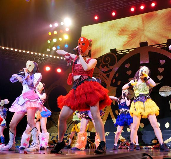 【快挙】地下アイドル最強のユニット『仮面女子』が日本最大級の野外フェス「ROCK IN JAPAN」に出演決定ッ!!