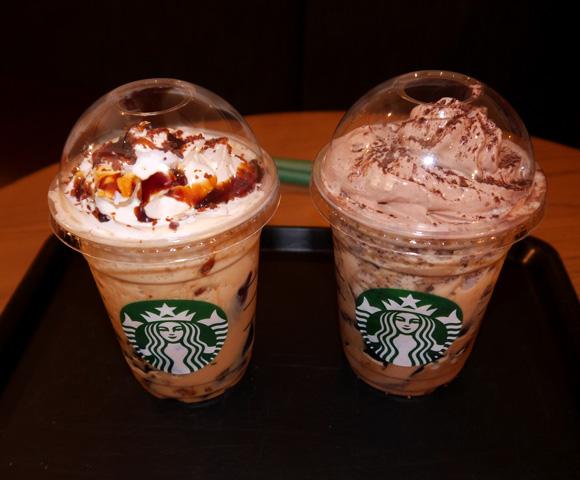 【スタバ】本日(6月4日)発売の「コーヒージェリーフラペチーノ」2種を飲んでみた / ジェリーの主張がハンパない商品と判明!