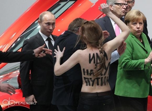 【ナターシャ通信】女性のために身体ひとつで闘う女性集団「FEMEN」