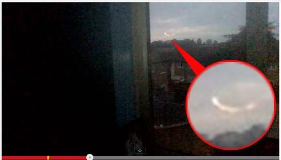 【ミステリアス動画】燃え盛るように発光しながら浮遊する物体が11歳の少女により激写される