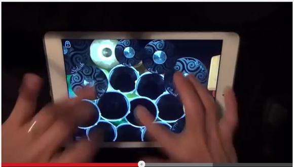 【卓抜動画】アプリを駆使して指だけでドラム演奏する「iPad Drum Cover」が超気持ちイイ!!