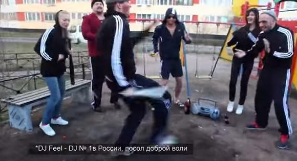 【おそロシア動画】アディダス率100パーセントのロシアンギャングの集会がマジでヤバい!