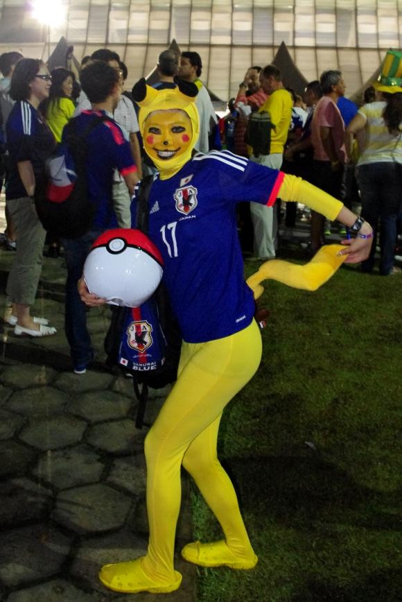 【ブラジルW杯レポート第3回】「ピッチ外では日本がコートジボアールを圧倒してたわ」と思える日本人サポーター画像10連発