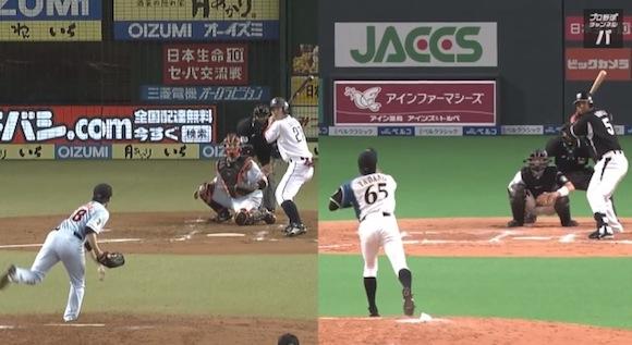 【衝撃野球動画】日本ハム・多田野投手の「超スローボール」がどれだけ遅いのか一発でわかる動画がコレだ!!