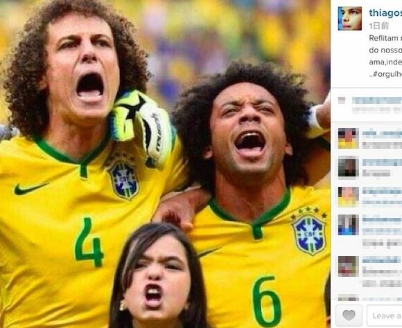 【W杯】かわいすぎる「小さなブラジル代表」が激写される